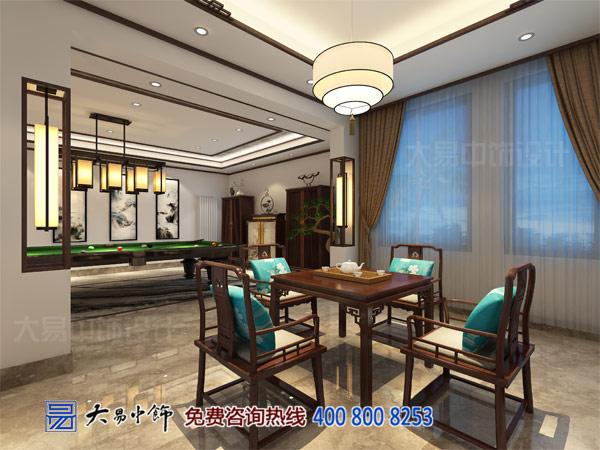 新中式别墅茶室设计