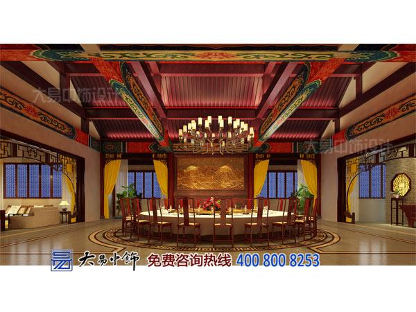 宴会厅中式公装包房设计效果图