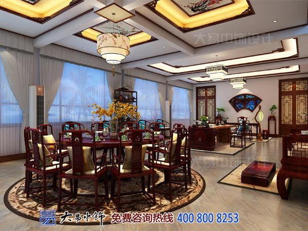 中式餐饮设计效果图