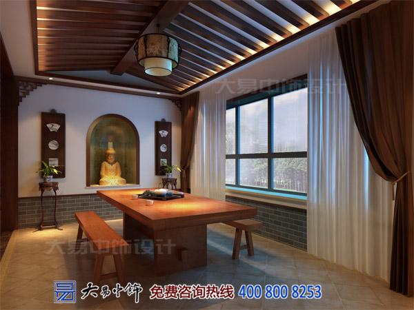 茶楼茶室中式装修设计效果图