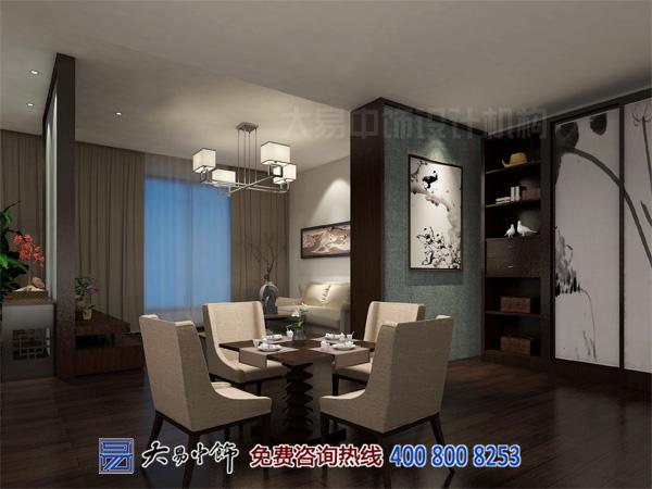 中式酒店客房设计效果图装修图库