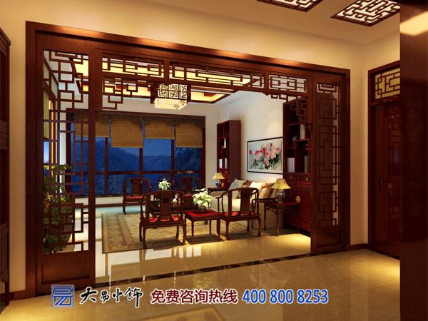住宅休闲中式会客厅装修效果图图片