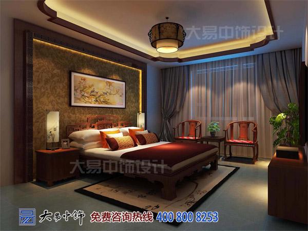 住宅中式卧室设计效果图片