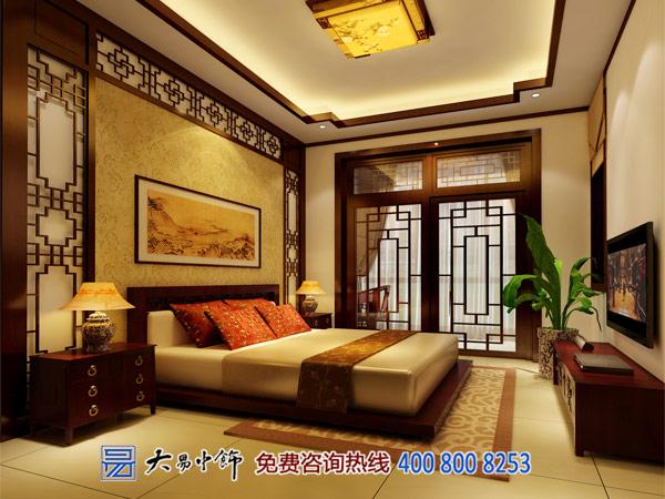 老年人住宅卧室中式装修效果图