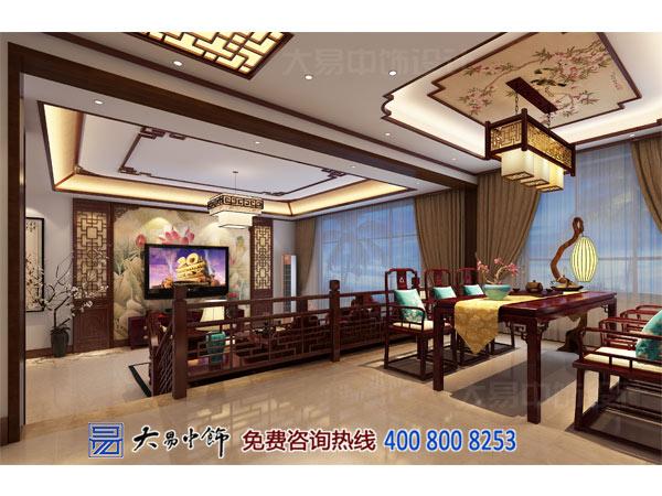 新中式别墅餐厅效果图装修设计