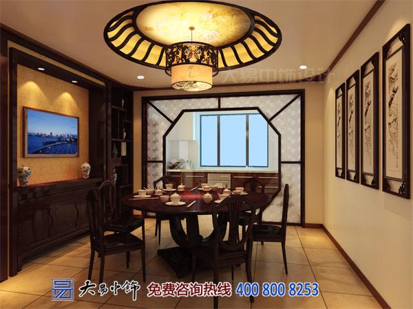 传统别墅餐厅设计效果图案例