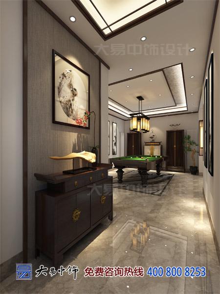 新中式风格住宅玄关设计效果图