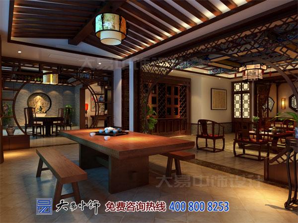 茶室茶楼中式设计装修效果图