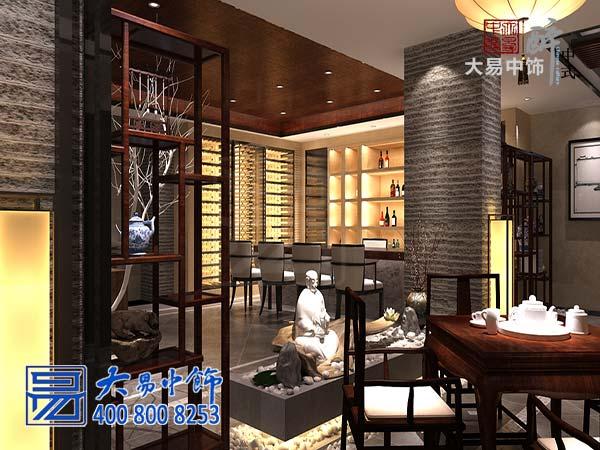 茶室茶楼中式装修设计效果图