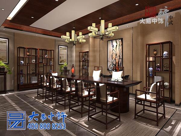 茶楼茶台中式设计装修效果图