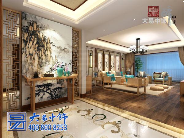 北京国奥村新中式设计家庭装修艺术氛围