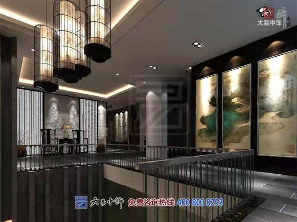 北京新中式風格會所裝修設計 私人接待會客會館