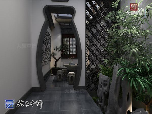 河北張家口茶館裝修 古韻幽香的茶樓中式設計