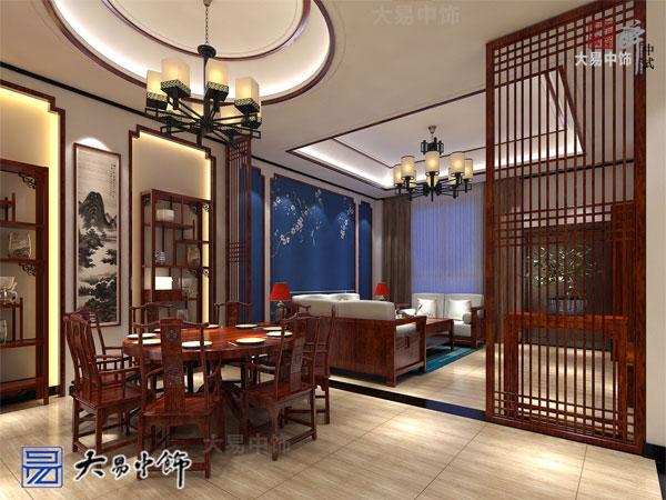 西安曲江別墅現代新中式風格裝修全案設計