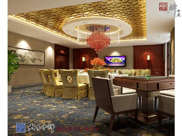 酒店中式设计的三层概述