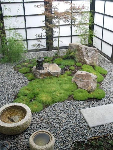 禅意枯山水园林景观装修设计梦回汉唐