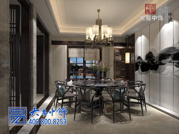简约中式民宿餐厅装修效果图
