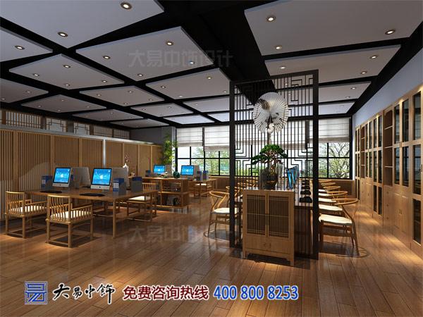 300平新中式办公室装修效果图