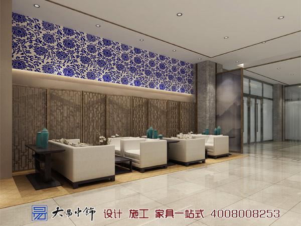 新中式国际酒店茶室休息区
