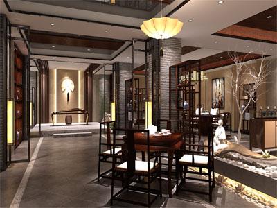 北京-新中式-私人会所茶楼设计图库