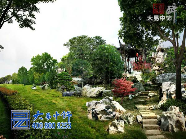 古建园林景观-中式设计装修图