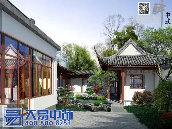 上海苏式-古建园林-中式设计装修实景图